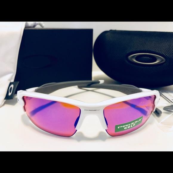 9c6d5b73fc Oakley FLAK 2.0 Sunglasses Polished White Prizm G